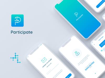 Participate Mobile App Ui dESIGN