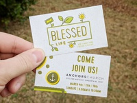 Blessed Life Series - Invite Card