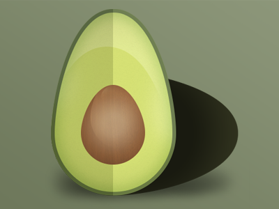 Avocado Icon app yum avocado android ios iphone mobile icon