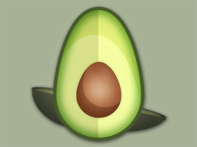 Avocado Icon Rebound/Update yum mobile ios icon avocado app android iphone