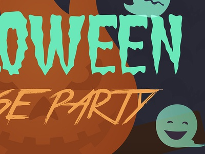 Halloween House Party 2017 event pumpkin ghost 2017 party house halloween