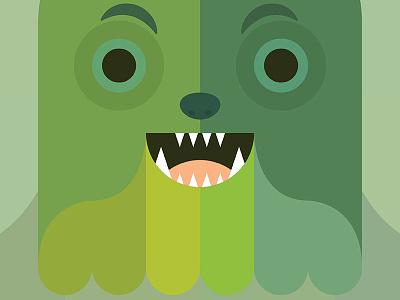 Creature - SV1 swamp vomit greens green vector character creature swamp