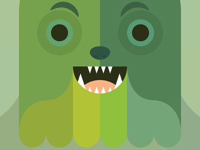 Creature - SV1 swamp vomit greens green vector character creature swamp
