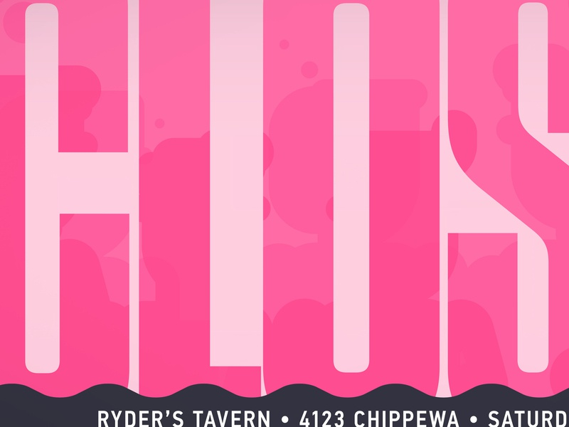 Ryder's Prom Night II: Closer bubblegum vector type din tungsten images flyer ryders tavern stl pink bar prom bar sweeter adult prom promo prom night closer