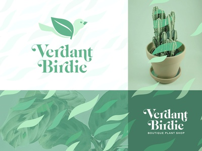 Verdant Birdie Logo