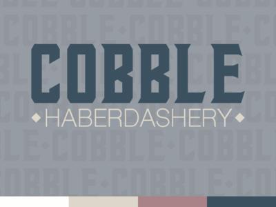 Cobble Haberdashery Logo