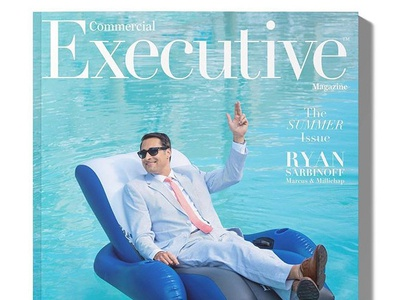Commercial Executive Magazine Cover