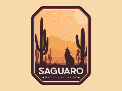 Saguaro NP Badge