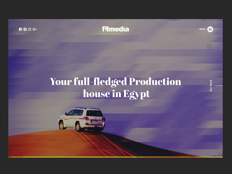 Production House production house egypt minimal background video homepage