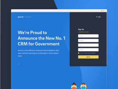 CRM App Home