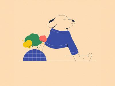Chori Dog ilustración drawing design exploration illustration