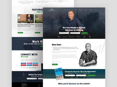NATE LEUNG | Website Design