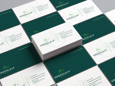 Green Leaf | Business Card