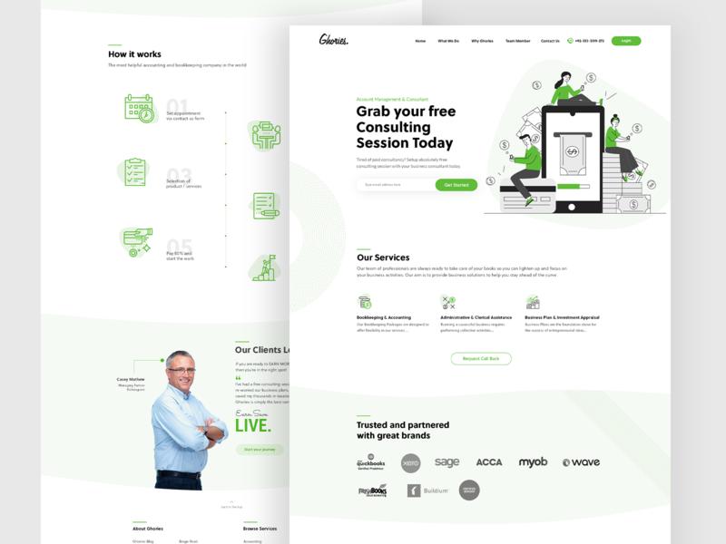 Ghories | Website Revamp