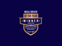 Mesa Driver | Badge