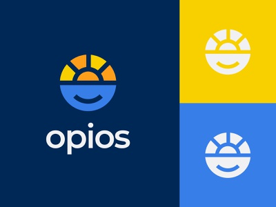 Opios illustration colors logo