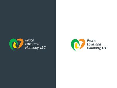 Peace Love And Harmony logos logo design logodesign marketing logotype icon branding illustration typography vector logo colors modern design