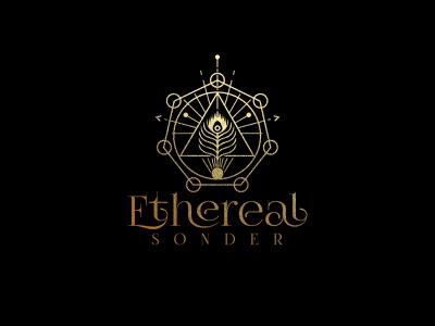 Ethereal Sonder illustrator colors vector logodesign icon logo design branding illustration identity minimal logo modern design