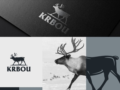 Krbou illustration typography vector minimal logo colors modern design