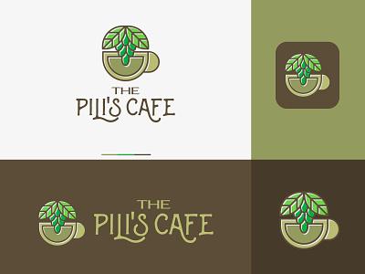 The Pilis Cafe illustration vector colors modern design