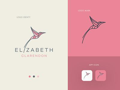 Elizabeth Clarendon illustration vector logo colors modern design