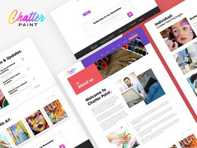 Chatter Paint - Website Case Study