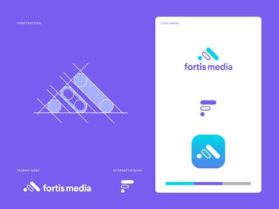 Fortis Media - Logo Design