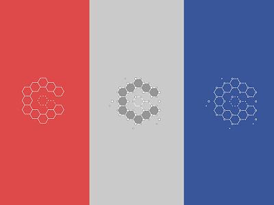 Branding — Christian Griffin monogram letter letterform g c hexagon node programming developer logo branding