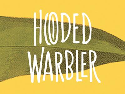 Hooded Warbler —Branding (WiP) nature type hand drawn retro vintage bird logo branding