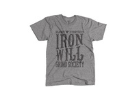 Hand Forged Iron Will Grind Society t-shirt