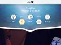 Responsive Web UI Concept