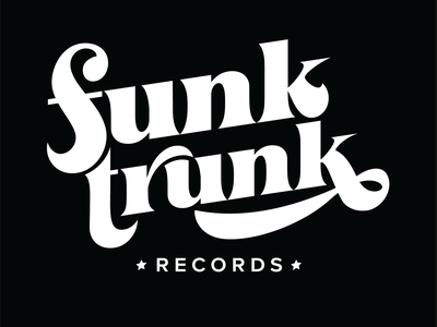 Funk Trunk Records graphicdesign lettering goodtype typography type wordmark handlettering logo branding design