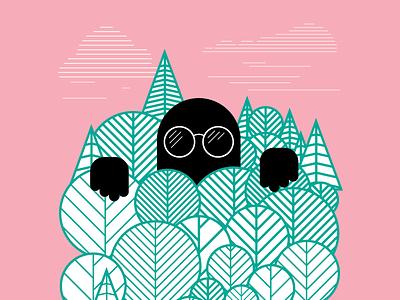 Design Journey poster illustration design