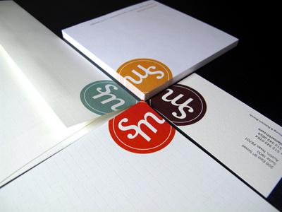 SicolaMartin Stationery identity branding business card letterhead envelope