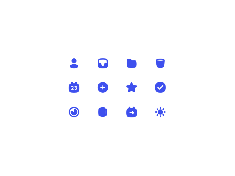 To-do icons list chubby todo task icons iconset