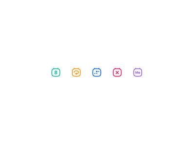 calendar icons iconset icons calendar