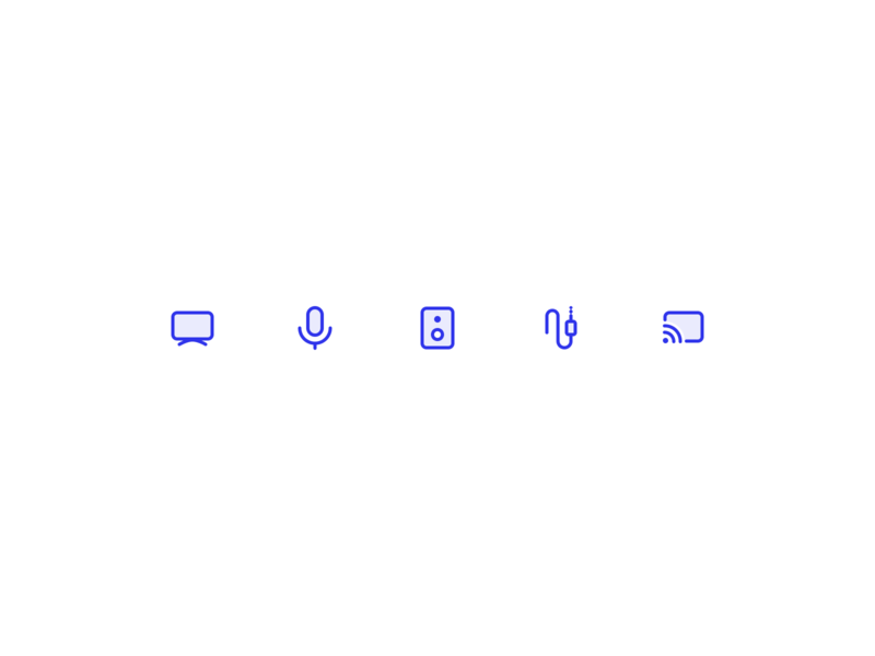 Device icons connect device icons
