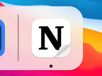 Notion Big Sur Icon icns replacement icon big sur