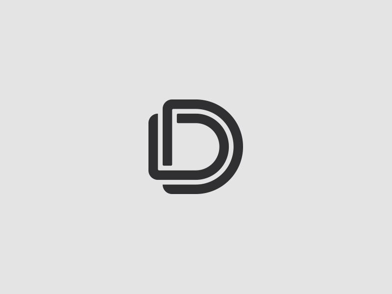 dd mark type mark identity wip brand logo simple dd d