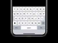 "keyboard for <input type=""password""> on iOS"