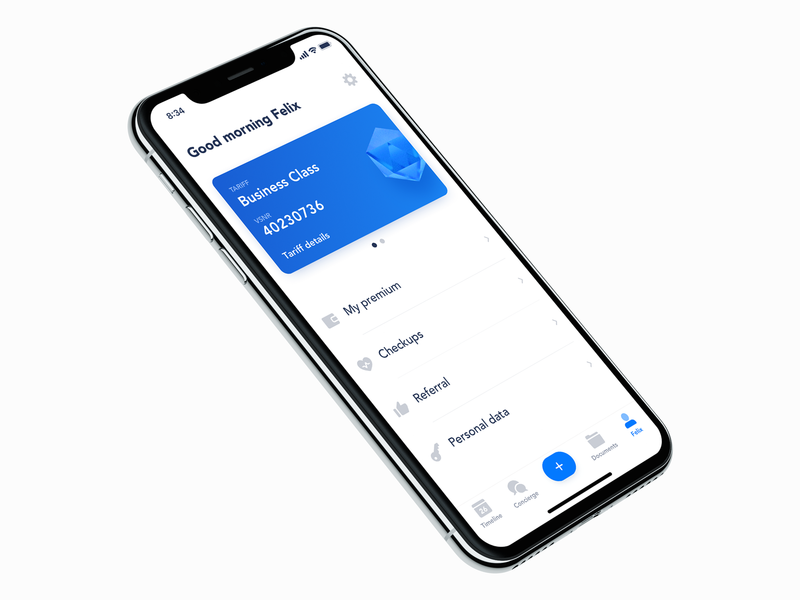 Profile exploration profile card settings profile