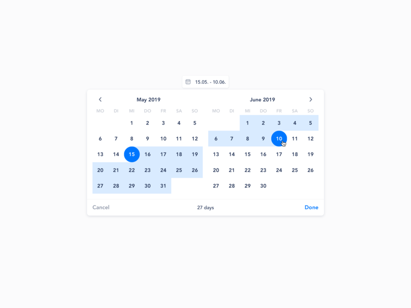 Admin datepicker date range datepicker date