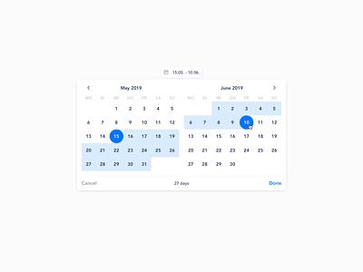 Admin datepicker date range datepicker date