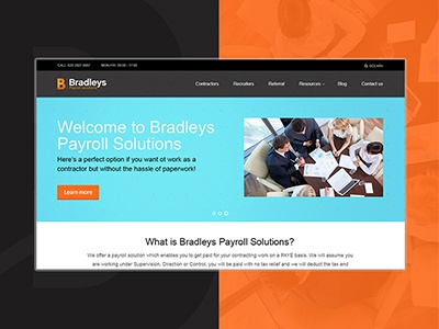 Bradleys Payroll payroll accounting home page website