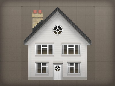 Icon - Building Assets icon illustrative house building