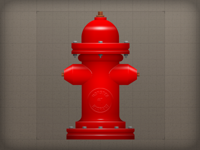 Icon - Prop Assets icon illustrative prop hydrant fire hydrant