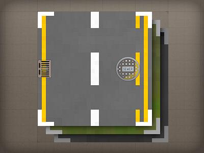 Icon - Texture Assets illustrative icon texture road