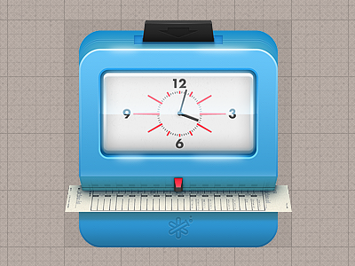 TrackRecord 2 - App Icons time tracking trackrecord 2 app icon icon illustrated icon
