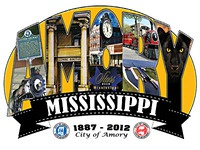 The City of Amory, MS - 125th Anniversary Logo