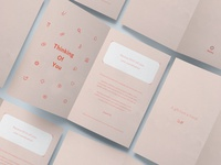 Sympathy cards for referral program
